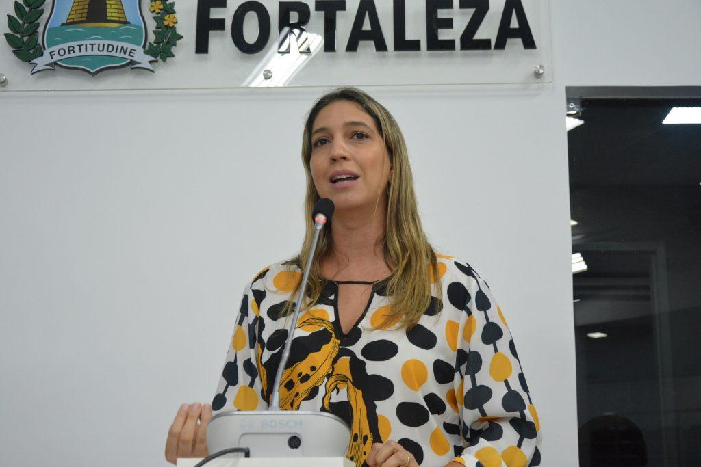 Vereadora Larissa Gaspar
