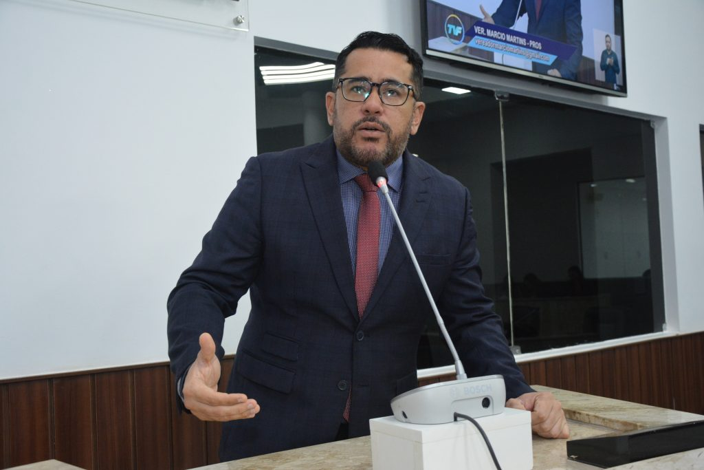Vereador Márcio Martins
