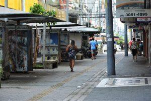 Movimentação centro de Fortaleza
