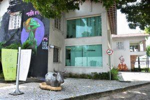 Fachada Vila das Artes