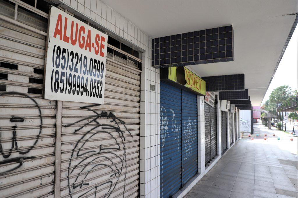 Comércio para alugar na avenida Monsenhor Tabosa em Fortaleza