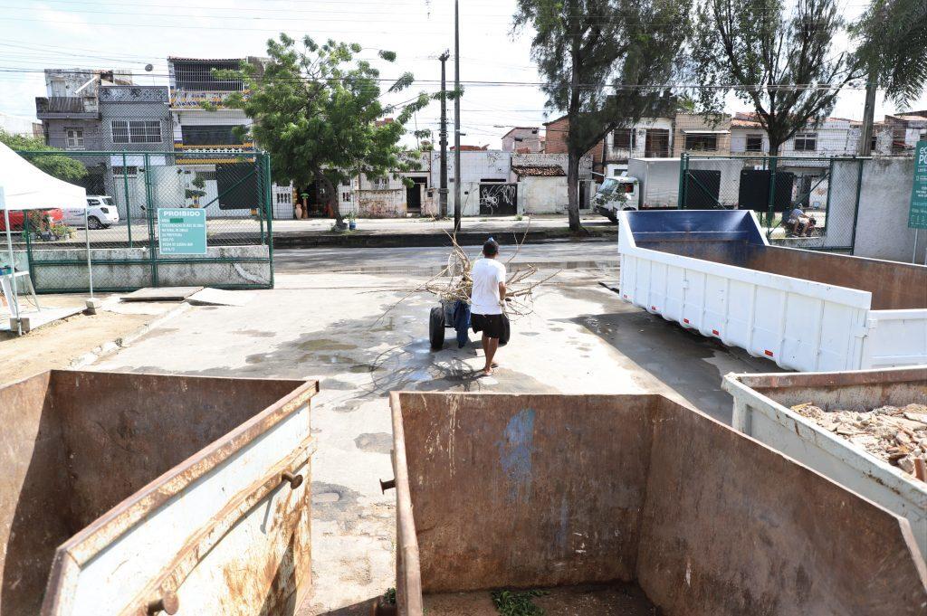 Ecopontos seguem funcionando durante a quarentena em Fortaleza