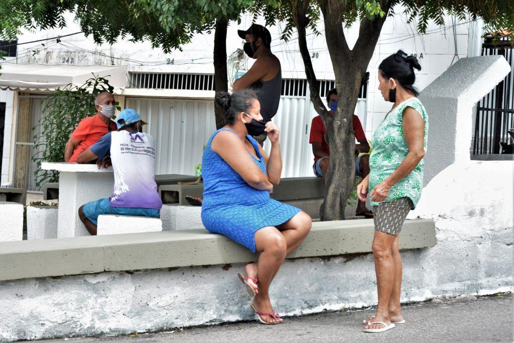 Movimentação no bairro Vicente Pinzon