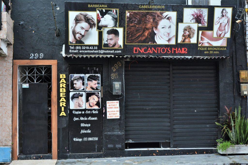 Salão de beleza e barbearia durante isolamento social