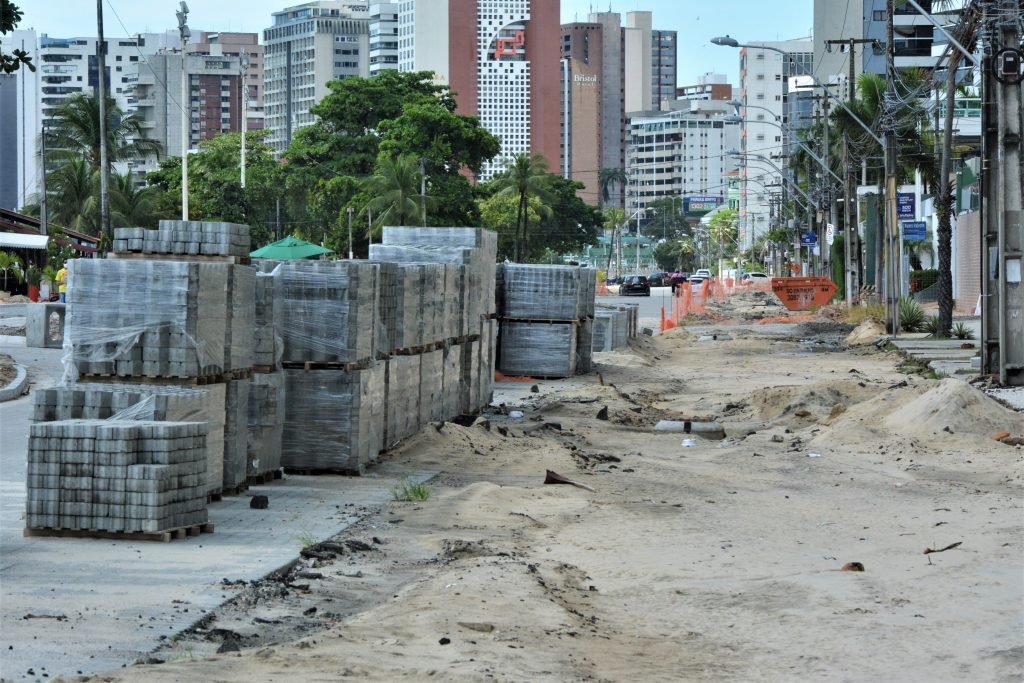 Obras públicas durante isolamento social