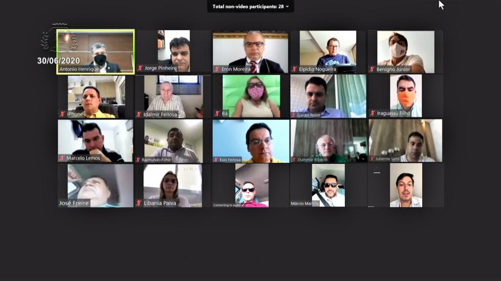 28ª Sessão Extraordinária Virtual