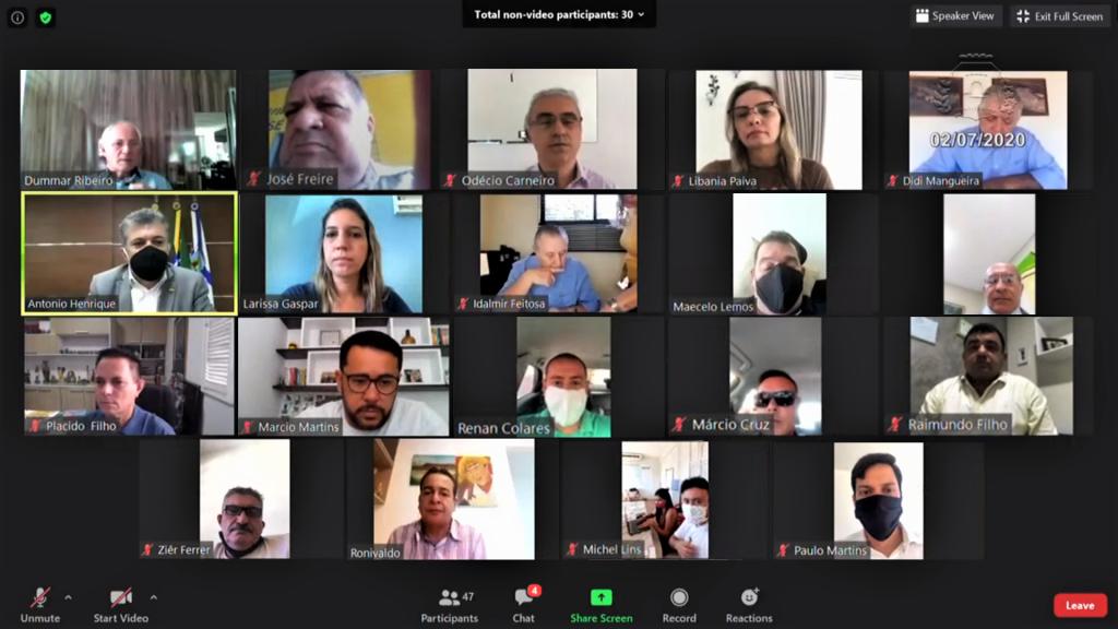 29ª Sessão Extraordinária Virtual