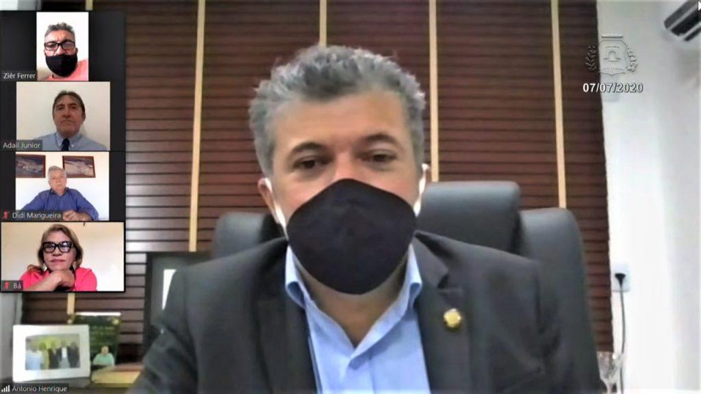 30ª Sessão Extraordinária Virtual - Presidente Antônio Henrique