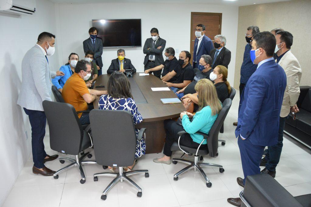 Comissão especial para receber representantes do setor de Entretenimento
