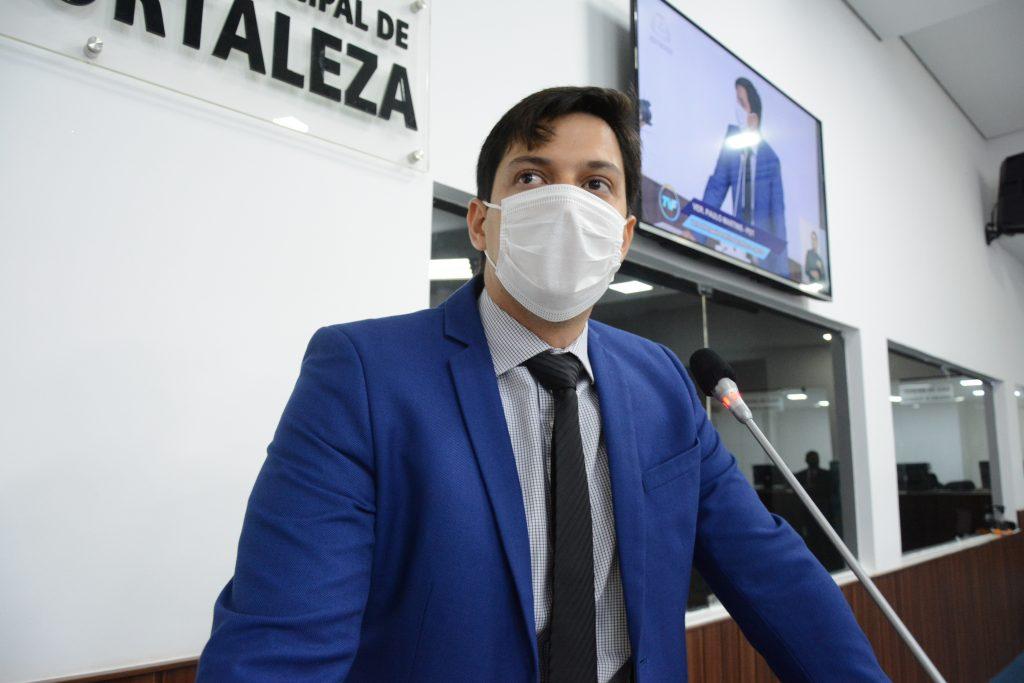 Sessão plenária Vereador Paulo Martins Data: 02.12.2020 Foto: Érika Fonseca