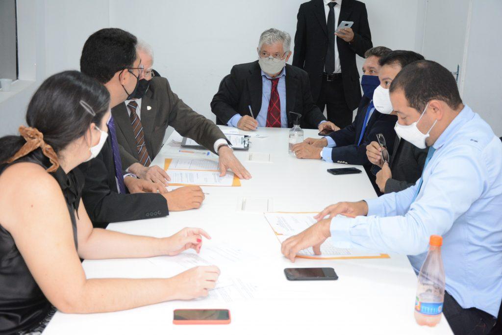 Comissão conjunta de constituição e justiça e orçamento Data: 03.12.2020 Foto: Érika Fonseca