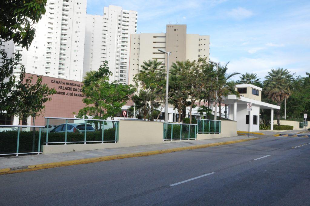 Fachada da Câmara Municipal de Fortaleza - Foto: Evilázio Bezerra