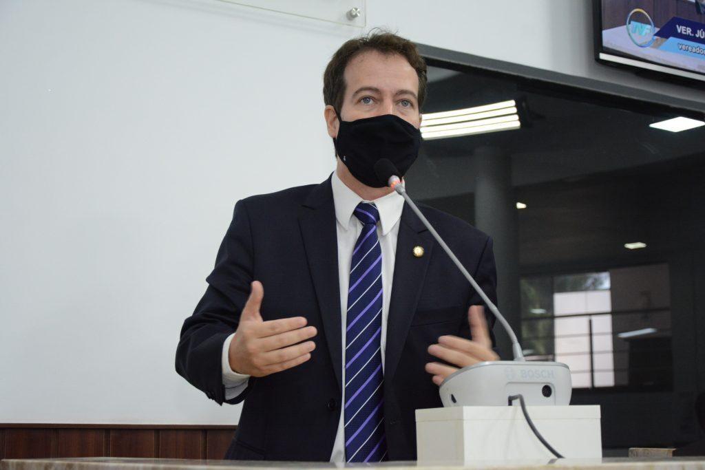 Sessão plenária Vereador Júlio Brizzi Data: 25.02.2021 Foto: Érika Fonseca