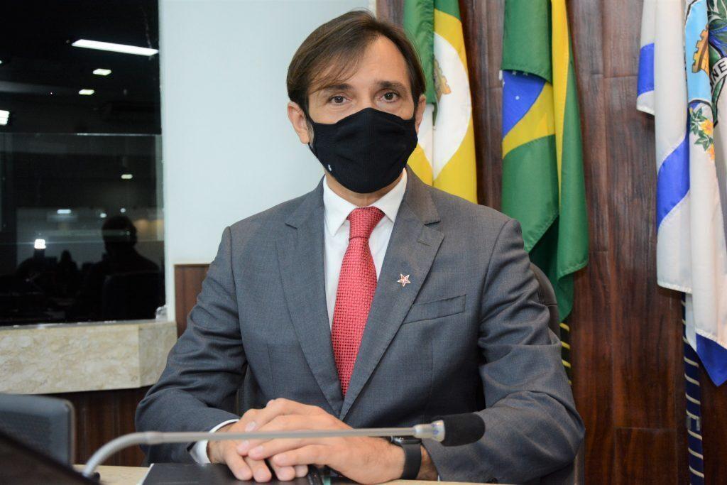 Solenidade de abertura dos trabalhos legislativo Vereador Guilherme Sampaio Data: 01.02.2021 Foto: Érika Fonseca