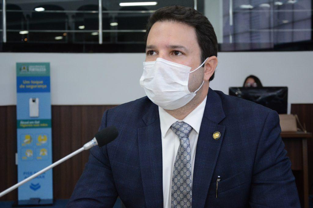 Sessão plenária Vereador Léo Couto Data: 02.03.2021 Foto: Érika Fonseca