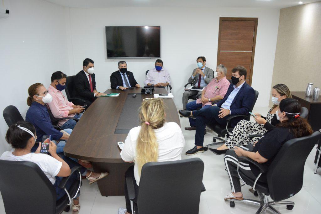 Comissão de Negociação Foto: Érika Fonseca