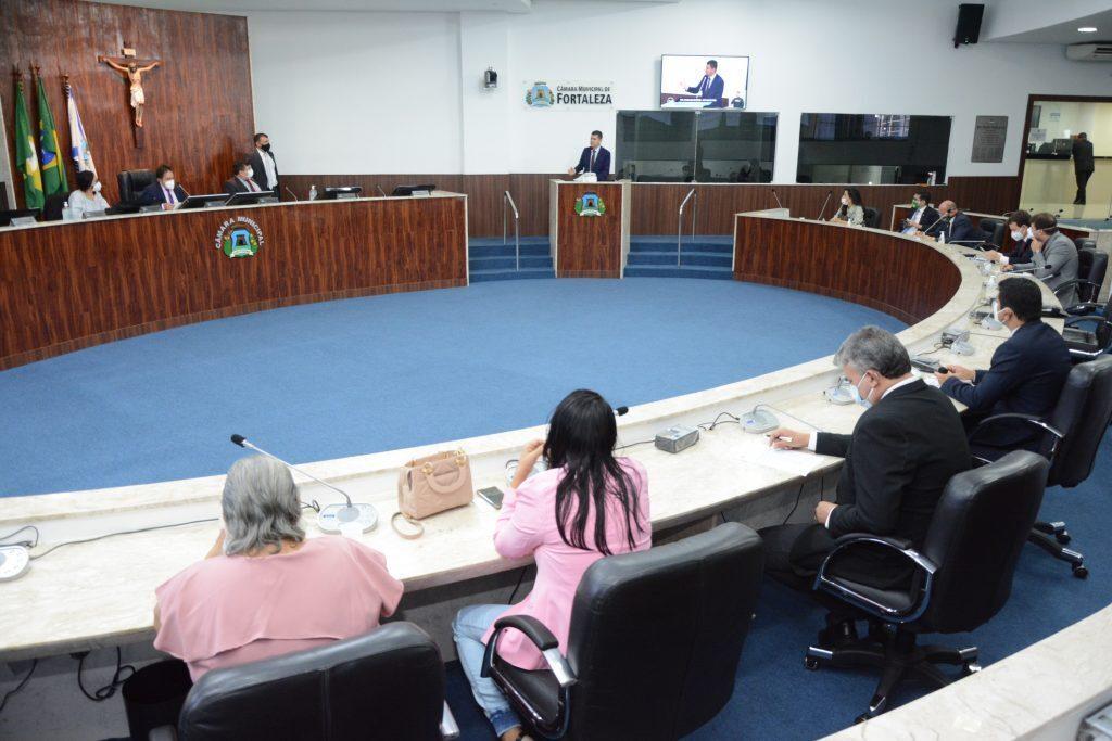 Sessão plenária Data: 04.03.2021 Foto: Érika Fonseca