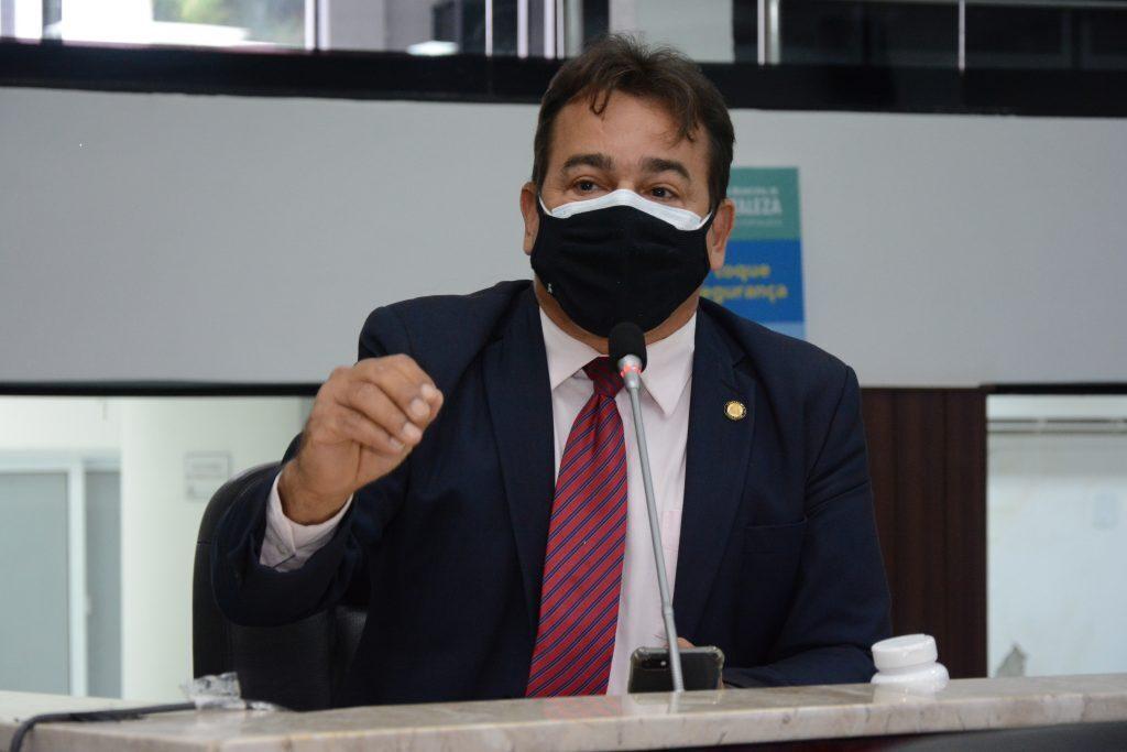 Sessão plenária Vereador Ronivaldo Maia Data: 04.03.2021 Foto: Érika Fonseca