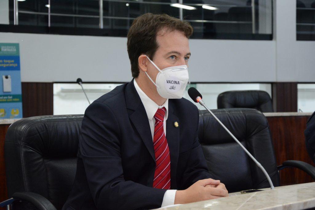 Sessão plenária Vereador Júlio Brizzi Data: 04.03.2021 Foto: Érika Fonseca