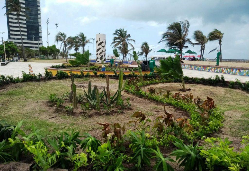 Praças e áreas verdes - PMF