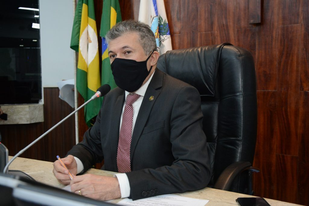 Sessão plenária Presidente Antônio Henrique Data: 02.06.2021 Foto: Érika Fonseca
