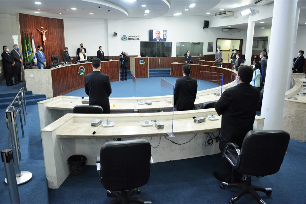 Sessão plenária Data: 02.06.2021 Foto: Érika Fonseca