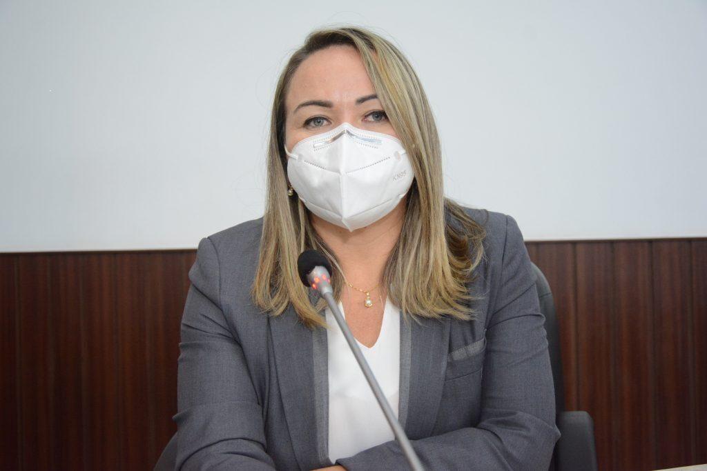 Sessão plenária Vereadora Enfermeira Ana Paula Data: 17.06.2021 Foto: Érika Fonseca