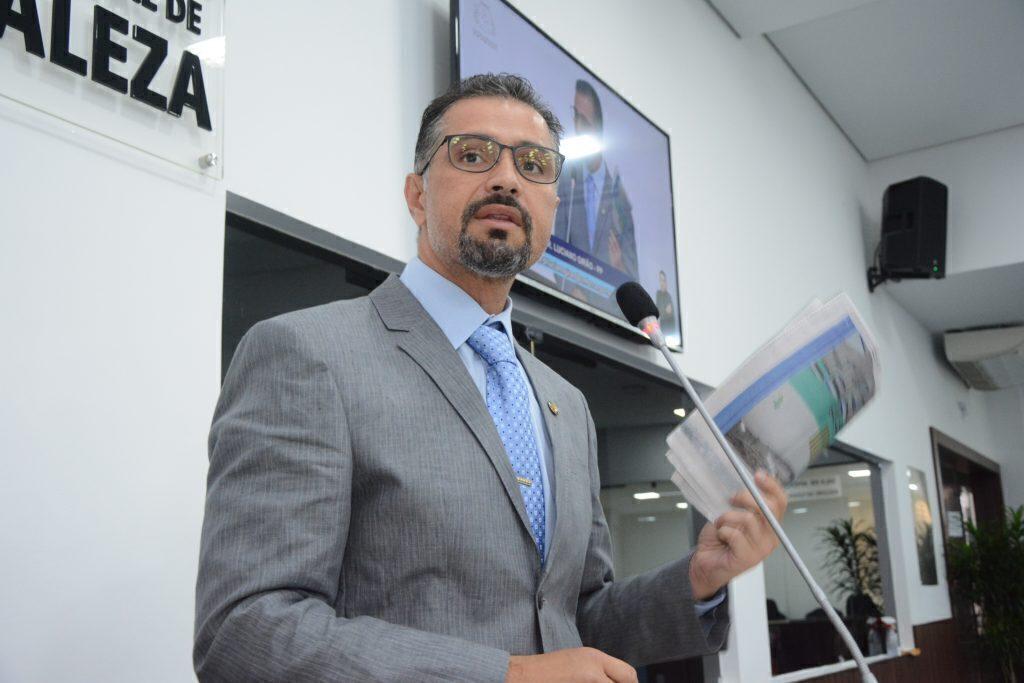 Sessão plenária Vereador Luciano Girão Data: 05.08.2021 Foto: Érika Fonseca