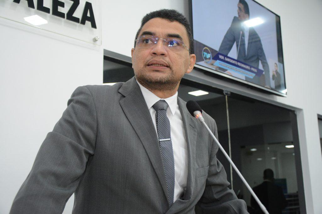 Sessão plenária Vereador Sargento Reginauro Data: 25.08.2021 Foto: Érika Fonseca