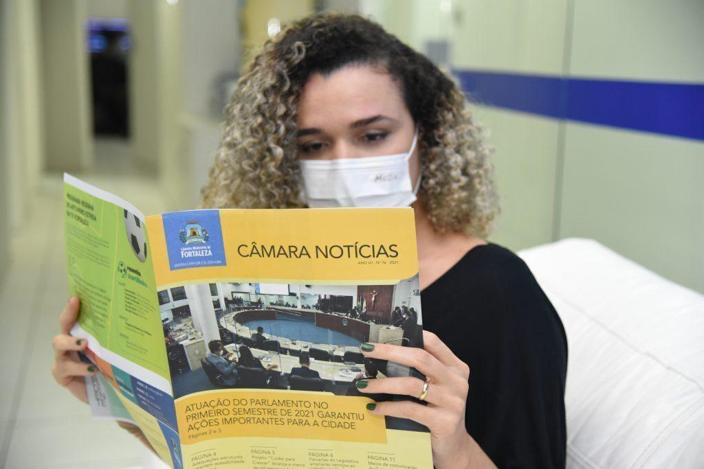 Câmara Notícias n°76 - Foto: Evilázio Bezerra