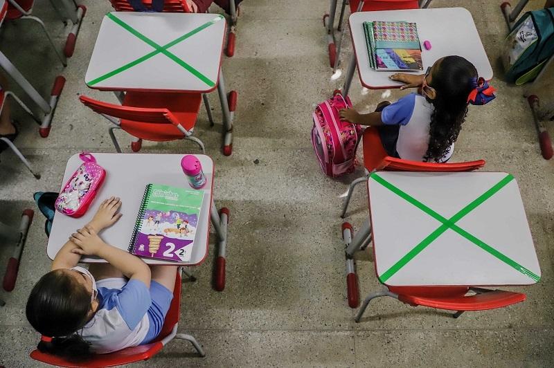 Aula em escolas- Foto: Mateus Dantass