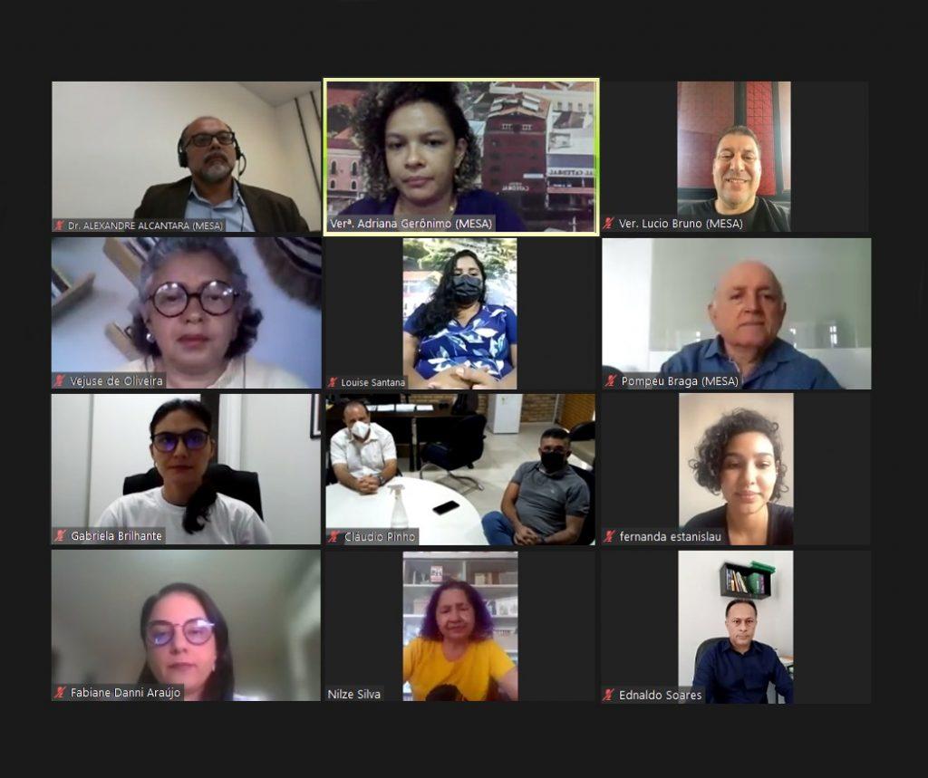 Audiência sobre a violência contra a pessoa Idosa - Foto: Érika Fonseca